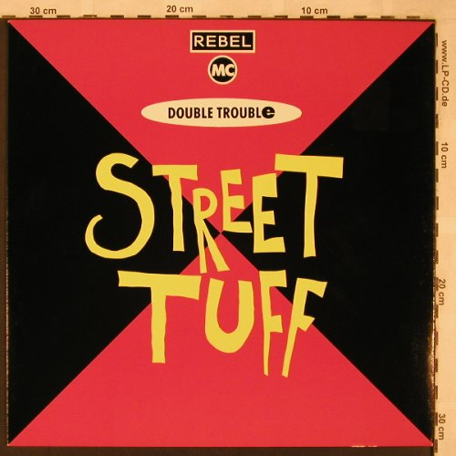 Rebel MC: Street Tuff *2, Desire(WANT X 18), UK, 1989 - 12inch - X2329 - 3,00 Euro