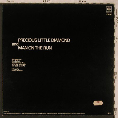 Fox The Fox: Precious Little Diamond,sp.mx Liebr, CBS(CBS 12.3858), NL,vg+/m-, 1984 - 12inch - X2336 - 3,00 Euro