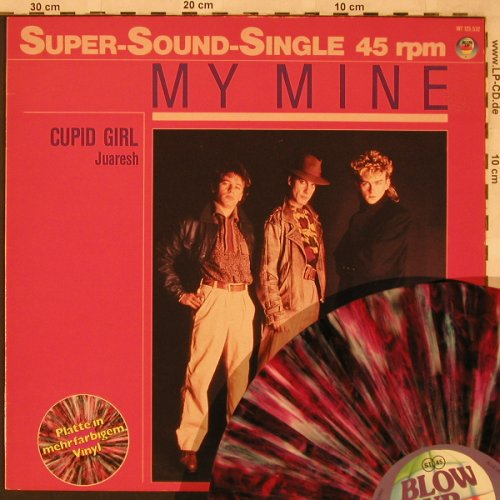 My Mine: Cupid Girl+1,multicol.Vinyl, Blow Up(INT 125.532), D, 1985 - 12inch - X2353 - 4,00 Euro