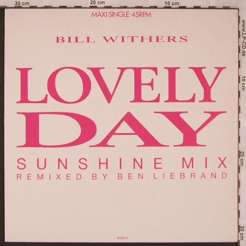 Withers,Bill: Lovely Day*2+2(sunshine mix), CBS(CBS 653001 6), NL, 1988 - 12inch - X2354 - 5,00 Euro
