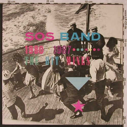 S.O.S. BAND: 1980-1987, The Hit Mixes, Tabu(TBU 460 189 1), NL, 1987 - LP - X2363 - 4,00 Euro