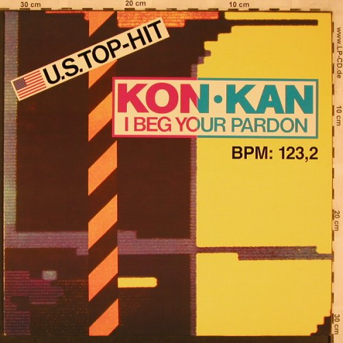 Kon Kann: I Beg Your Pardon*4, Atlantic(786 467-0), D, 1989 - 12inch - X2365 - 4,00 Euro