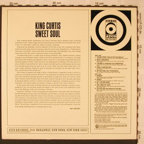 King Curtis: Sweet Soul, Atco(SD 33-247), D, 1968 - LP - X2385 - 14,00 Euro