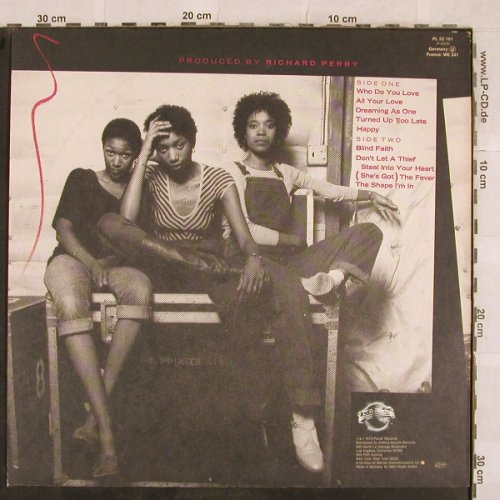 Pointer Sisters: Priority, Planet(PL 52 161), D, 1979 - LP - X250 - 5,00 Euro
