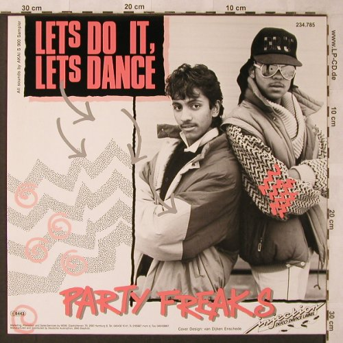 Party Freaks: Let's do it, let's dance, Injection(234.785), D, 1987 - 12inch - X2627 - 4,00 Euro