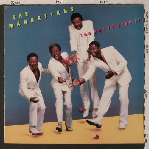 Manhattans: Too Hot To Stop It, CBS(CBS 26162), UK, 1985 - LP - X2782 - 6,00 Euro