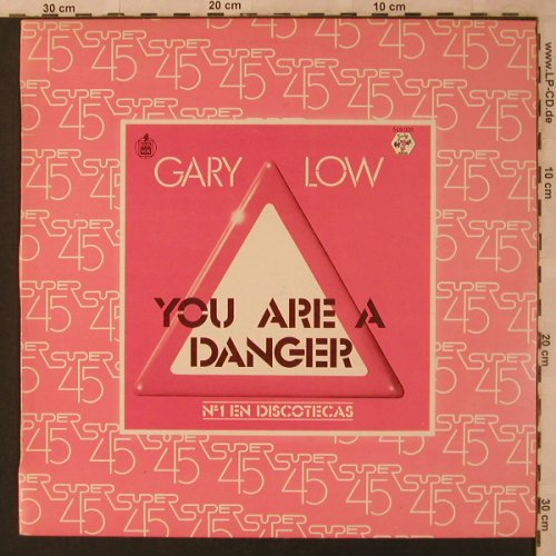 Low,Gary: You Are A Danger *2, vg+/m-, Hispavox(549 005), EEC, 1982 - 12inch - X3043 - 3,00 Euro