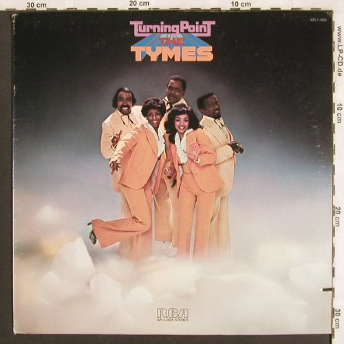 Tymes: Turning Point, RCA(APL1-1835), US, Co, 1976 - LP - X3077 - 6,00 Euro