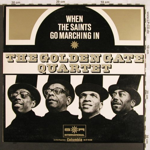Golden Gate Quartet: When the Saints go Marching in, S*R (1.1vg+/m-)(75 830), D,  - LP - X3108 - 5,00 Euro