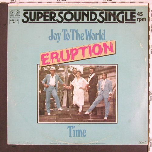 Eruption: Joy To The World / Time, Jupiter(6.20156 AE), D,  - 12inch - X3351 - 2,50 Euro