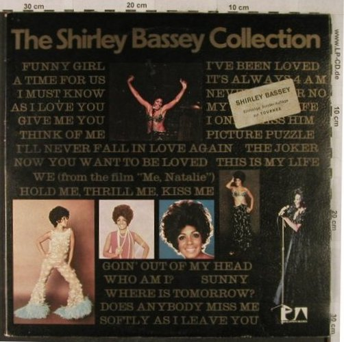 Bassey,Shirley: The S.B. Collection,Sonder-Auflage, UA, Foc(UAS 29 348 XD), D,  - 2LP - X3482 - 7,50 Euro