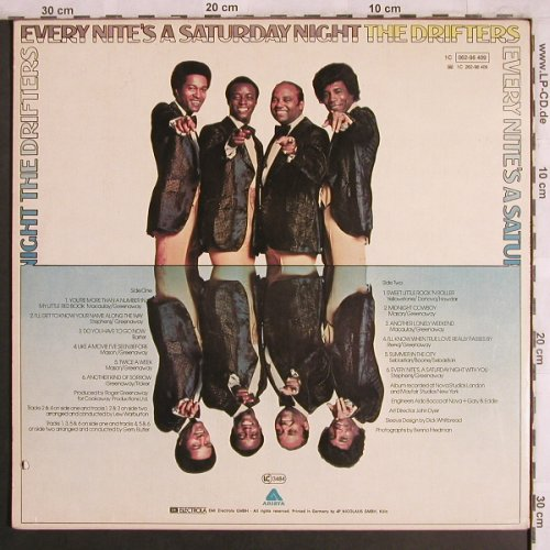 Drifters: Every Nite's a Saturday Night, Arista(062-98 409), D, co, 1976 - LP - X4038 - 5,00 Euro