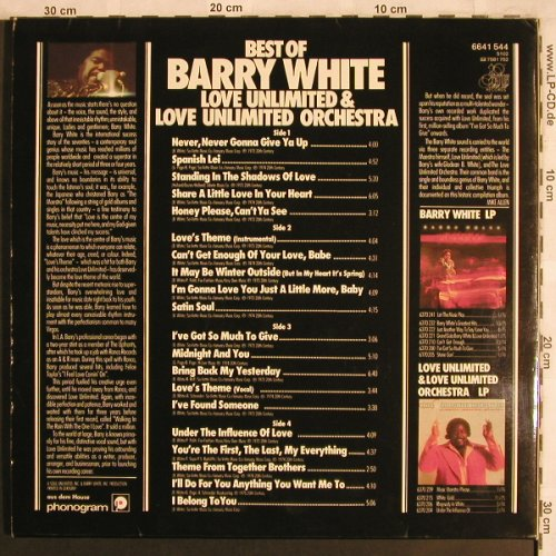 White,Barry & Love Unlimited: Best Of, Foc,+Poster, 23RD Century Rec.(6641 544), D,  - 2LP - X4085 - 9,00 Euro