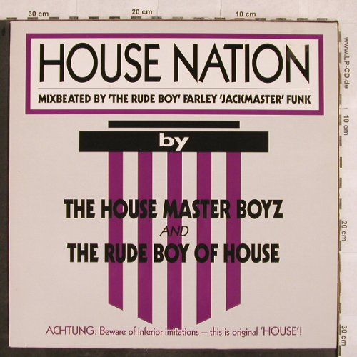 House Master Boyz & Rude Boy Of: House Nation+2, BCM(B.C.12-2023-40), D,  - 12inch - X42 - 3,00 Euro