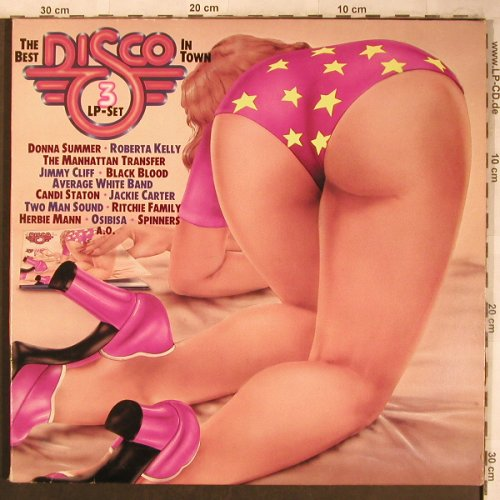 V.A.The Best Disco in Town: Spinners...Macondo, Foc², Atlantic(WEA 68 014), D, 1977 - 3LP - X4564 - 9,00 Euro