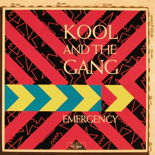 Kool & The Gang: Emergency, Fresh/Mistled sp.mx +1, De-Lite(883 501-1ME), D, 1984 - 12inch - X462 - 2,50 Euro