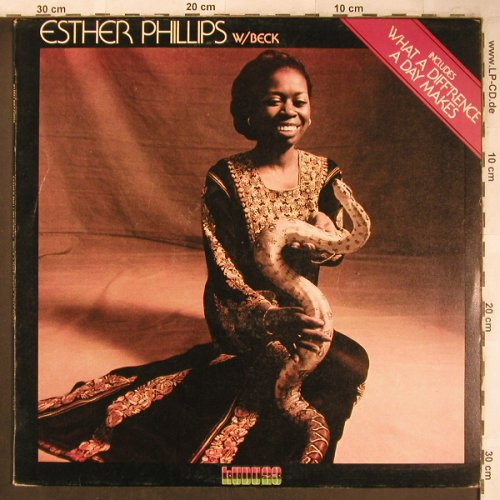 Phillips,Esther - W/Beck: What a Diff'rence a day Make, Kudu(KU 23), I, 1975 - LP - X4777 - 9,00 Euro