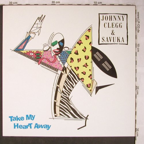 Clegg,Johnny & Savuka: Take my Heart Away+2, EMI(20 2968 6), NL, 1988 - 12inch - X5202 - 5,00 Euro
