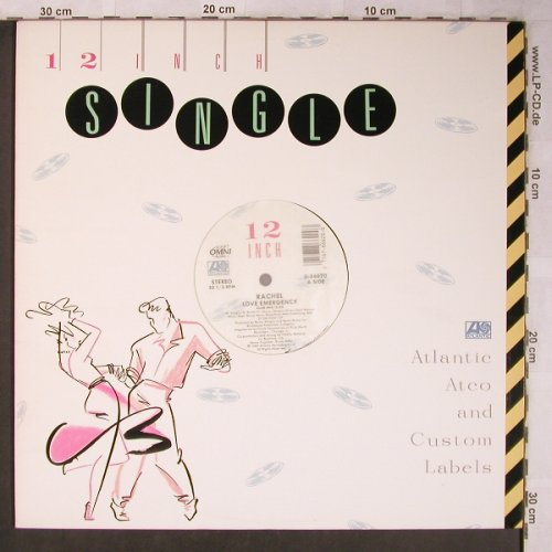 Rachel: Love Emergency*3,club/radio/dub, Atlantic(0-86620), D,33rpm, 1987 - 12inch - X5245 - 3,00 Euro