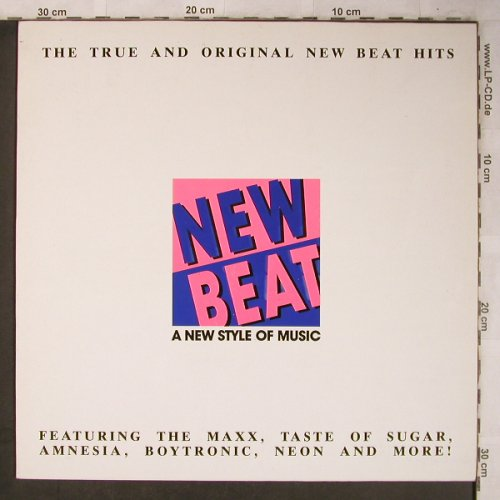 V.A.New Beat-A New Style of Music: Spectrum...Boytronic, BCM(33015), D, 1988 - LP - X5266 - 5,00 Euro