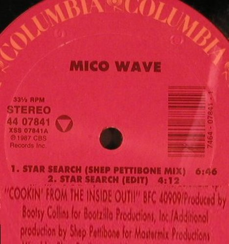 Mico Wave: Star Search*4 rmx Sheep Pettibone, Columbia(44 07841), US, 1987 - 12inch - X5480 - 6,00 Euro
