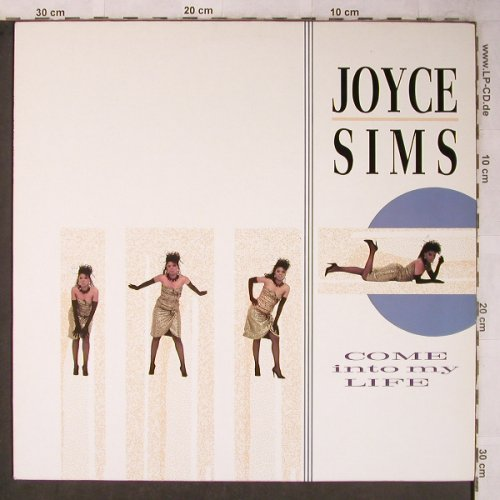 Sims,Joyce: Come Into My Life, London(6.26764 AP), D, 1988 - LP - X5540 - 7,50 Euro