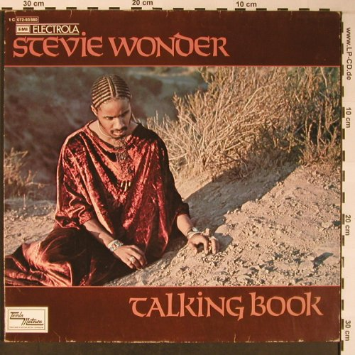 Wonder,Stevie: Talking Book,Foc, m-/vg+, Tamla(C 062-93 880), D, 1972 - LP - X5967 - 7,50 Euro
