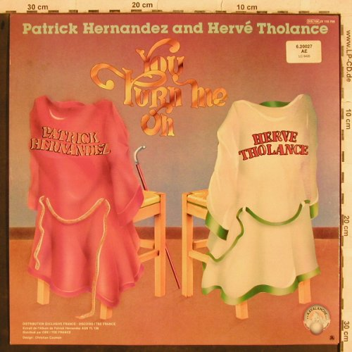 Hernandez,Patrick & Herve Tholance: Back To Boogie/You turn me on, Avalanche(JV 110 705), F, 1979 - 12inch - X610 - 3,00 Euro