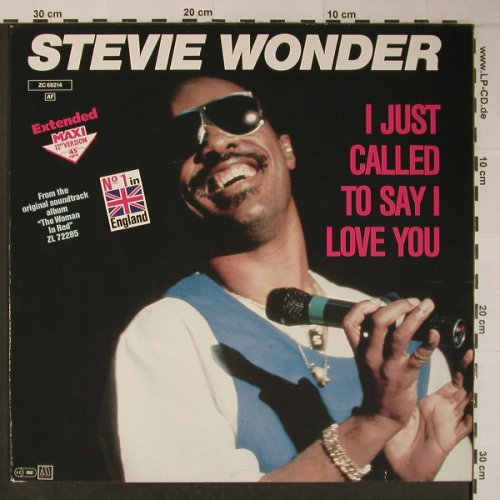 Wonder,Stevie: I Just Call To Say I Love You*2, Motown(ZC 69214), D, 1984 - 12inch - X6198 - 5,00 Euro
