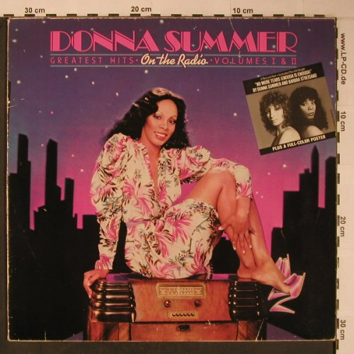Summer,Donna: On The Radio, +Poster, m-/VG+, Casablanca(NB 7070), D, 1979 - 2LP - X6204 - 12,50 Euro