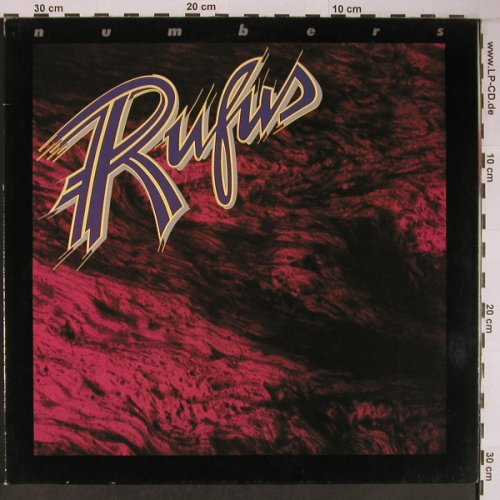 Rufus: Numbers, Foc, ABC(200 013-320), D, 1978 - LP - X6274 - 9,50 Euro