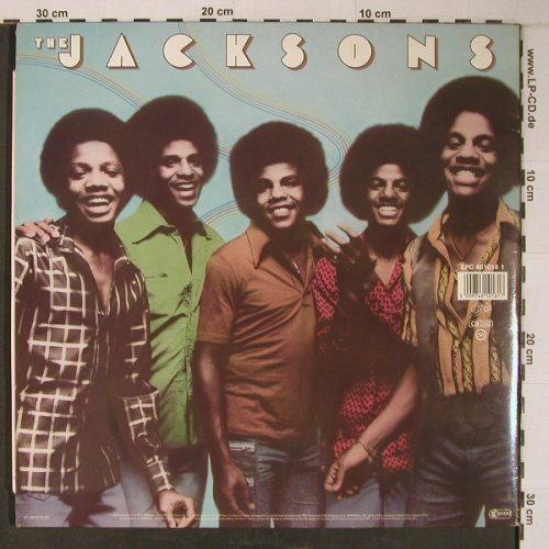 Jacksons: Triumph / The Jacksons, Foc, vg+/m-, Epic(EPC 461018 1), NL,stoc, 1980 - 2LP - X6502 - 7,50 Euro