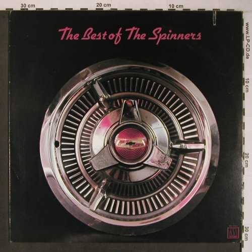 Spinners: The Best Of, Motown(M5-199V1A), US, CO,Ri, 1973 - LP - X6620 - 17,50 Euro