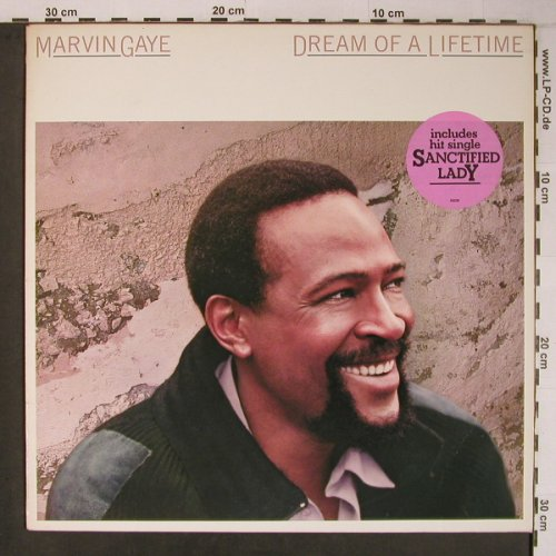 Gaye,Marvin: Dream Of A Lifetime, vg+/vg+, CBS,PromoStoc(26 239), NL, 1985 - LP - X6627 - 6,00 Euro