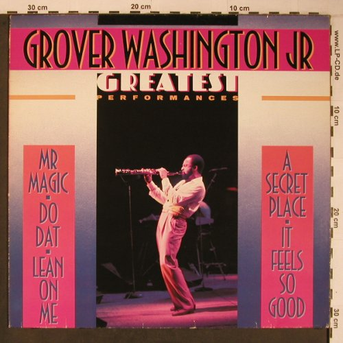 Washington Jr.,Grover: Greastest Performances, vg+/m-, Motown(WL72125), D,  - LP - X6629 - 6,00 Euro