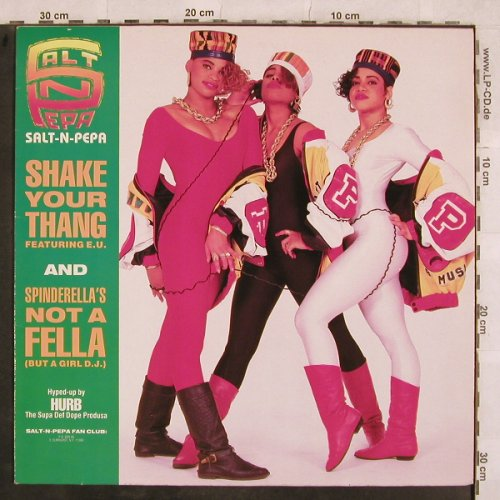 Salt-N-Pepa: Shake Your Thang*2+2, ffrr(886 329-1), D, 1988 - 12inch - X676 - 3,00 Euro