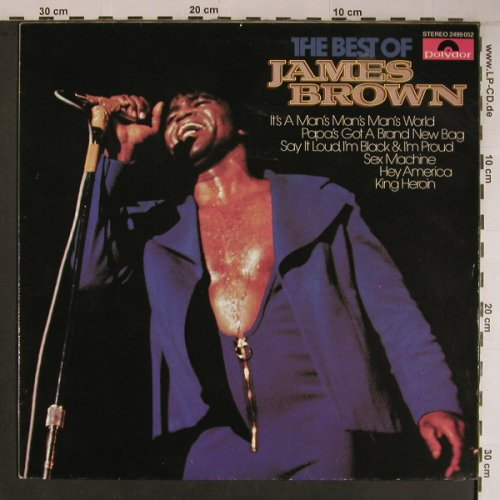 Brown,James: The Best Of, Polydor(2499 052), D, Ri, 1981 - LP - X6794 - 20,00 Euro