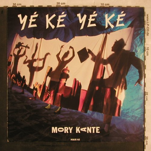 Kante,Mory: Yeke Yeke*2+1(remix+Single), Barclay(887 048-1), D, 1987 - 12inch - X761 - 2,50 Euro