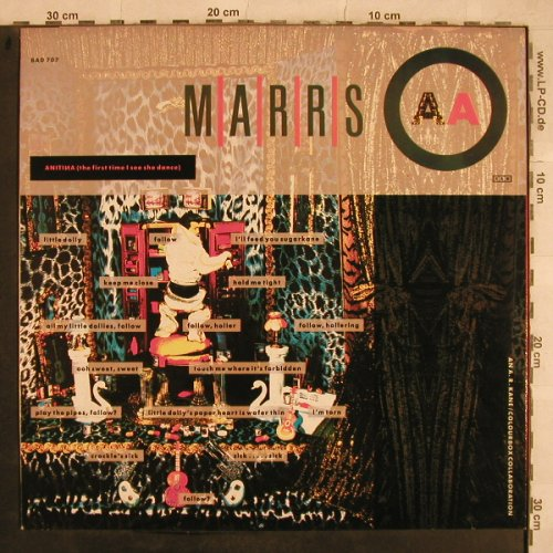 Marrs: Pump Up The Volume+1,(anitina), 4AD(BAD 707), F, 1987 - 12inch - X763 - 3,00 Euro