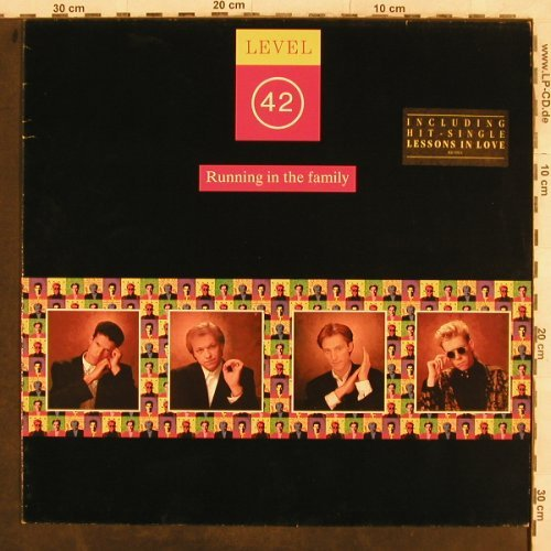 Level 42: Running In The Family, Polydor(831 893-1), D, 1987 - LP - X7 - 5,50 Euro
