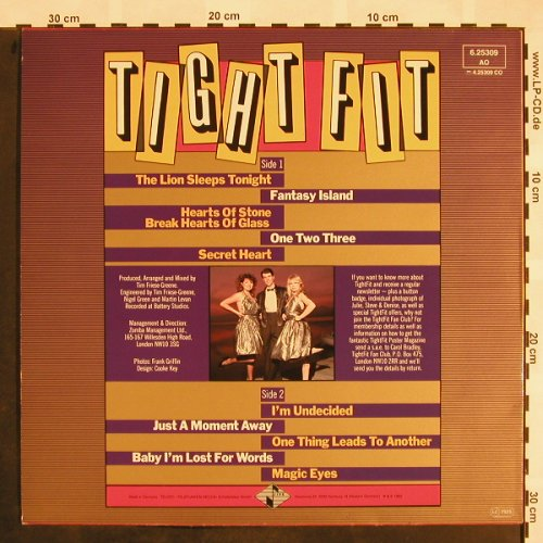Tight Fit: Same, Jive(6.25309 AO), D, 1982 - LP - X874 - 5,50 Euro