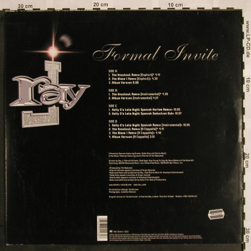 Ray J: Formal Invite, Atlantic(7567-85193-0), D, 2001 - 2LP - X955 - 7,50 Euro