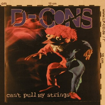 D-Cons: Can't Pull My Strings, 6 Tr., Slow Gun Records(SG02), US, 1997 - EP - S7535 - 4,00 Euro