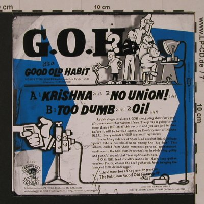 G.O.H.: We Trust?!!? Yep,You Better!!, Skanky'lil Records(SL 702), NL, 1999 - EP - S7538 - 4,00 Euro