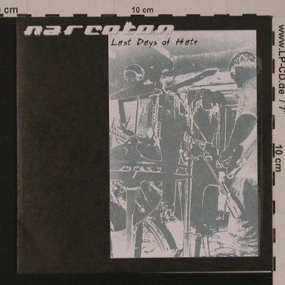 Narcoton: Last Days Of Hate, 4 Tr., Tiki Inferno(002), D, 2000 - EP - S7539 - 4,00 Euro