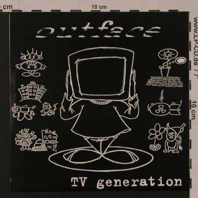 Outface: TV Generation, 8 Tr., Panx(PP058), F, 2000 - EP - S7543 - 4,00 Euro