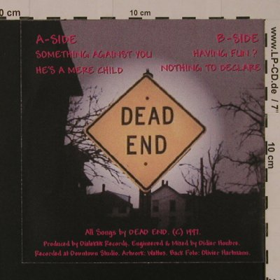 Dead End: Unhappy Birthday, 4 Tr., Dialectic Records(DR009), F, 1997 - EP - S7565 - 4,00 Euro