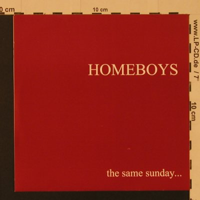Homeboys: The Same Sunday..., 4 Tr., Panx(PP056), F, 2000 - EP - S7569 - 4,00 Euro