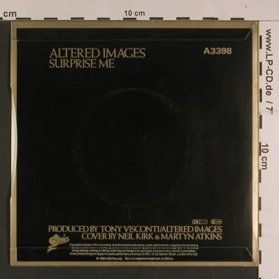 Altered Images: Bring Me Closer / Surprise Me, Epic(A 3398), UK, 1983 - 7inch - S7649 - 2,50 Euro