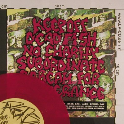 Redspit: Keep Off +3 , spit red vinyl, Revelation Time Rec.(), ,  - EP - S7729 - 5,00 Euro